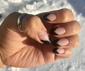 mani, nails, and french mani image