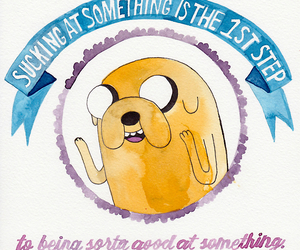adventure time, funny, and motivation image