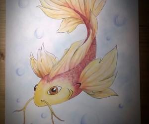 draw, fish, and carpa image