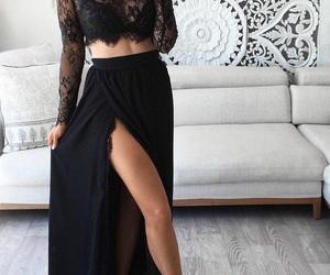 fashion, dress, and prom dress image