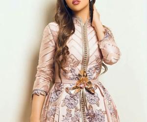 arabia, beautiful, and dress image