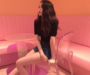 aesthetic, girl, and asian image