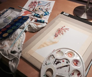 aquarell and art image