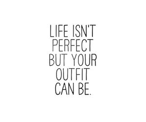 quotes, outfit, and life image