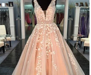 long prom dress, formal prom dress, and prom dress ball gown image