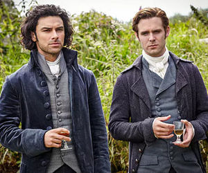 ross poldark and dwight enys image