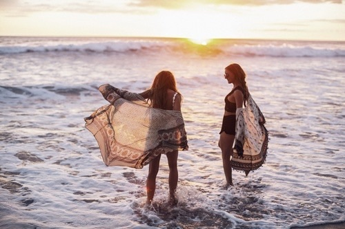 beach, tumblr, and love image