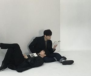 got7, jaebum, and jinyoung image