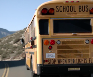 aesthetic and school bus image