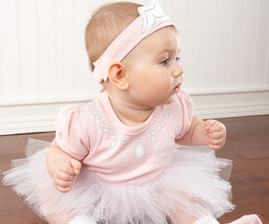baby princess, layette, and baby aspen image