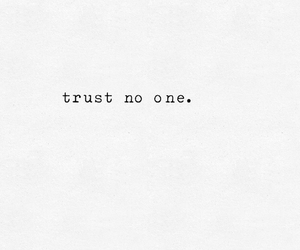 Trust No One image