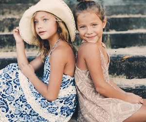 fashion, kids, and summer image