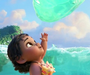 disney, moana, and cute image