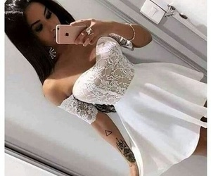arm tattoo, perfect, and dress image