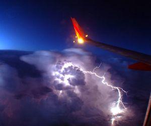 amazing, plane, and beautiful image