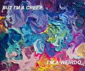 creep, music, and radiohead image