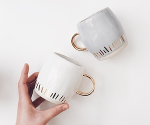 cup, coffee, and drink image