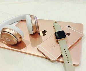 iphone, apple, and beats image
