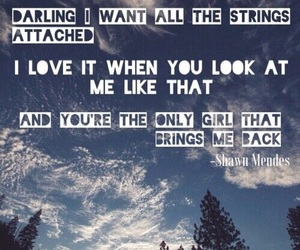 strings, shawn mendes, and Lyrics image