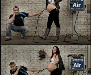 baby, funny, and couple image