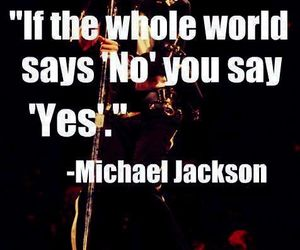 michael jackson, mj, and quote image