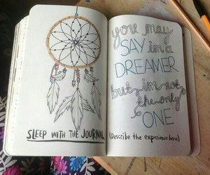 notebook and Dream image