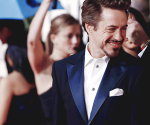 robert downey jr, handsome, and iron man image