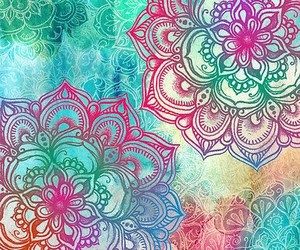 wallpaper, mandala, and background image