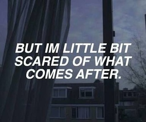 quotes, scared, and grunge image
