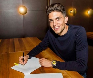 marc bartra, spain, and fc barcelona image