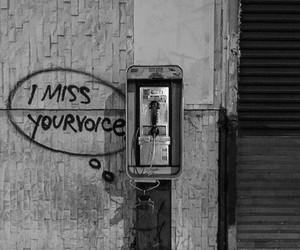 alternative, romance, and telephone image