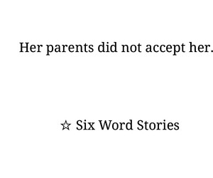 parents and six word stories image