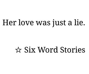 love and six word stories image