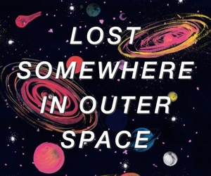 space, aesthetic, and grunge image