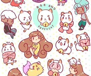 fan art, cute, and bee and puppycat image