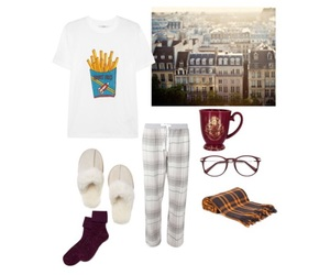 fall, Lazy, and Polyvore image