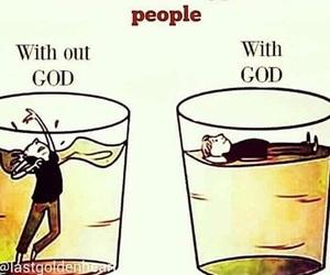 faith, god, and with god image