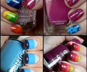 beuty, colorful, and fashion image