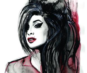 Amy Winehouse and art image