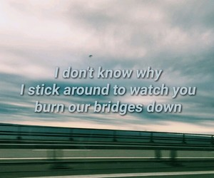 blue, burning bridges, and bea miller image