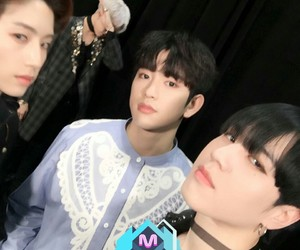 JR, bambam, and jinyoung image