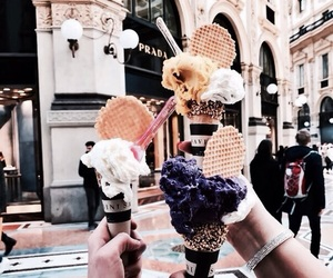 ice cream, delicious, and food image