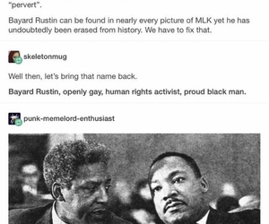 activist, gay rights, and Martin Luther King Jr. image