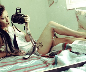 Chica, tattoo, and leopard image