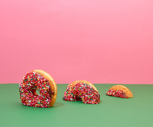 donuts, green, and cute image