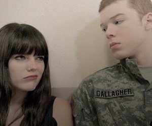 shameless, ian gallagher, and mandy milkovich image