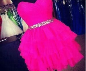 moda, vestidos, and rosa image