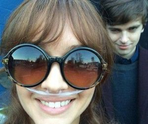 bates motel, freddie highmore, and olivia cooke image