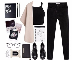 look, fashion, and hipster image