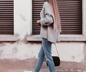 casual, goals, and long hair image
